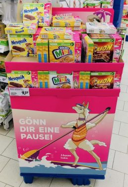 Nestlé Display Cerealien-Riegel Display Lama