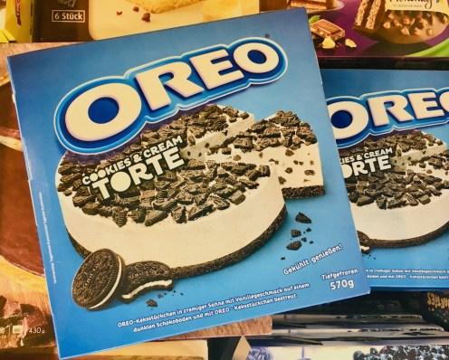 """Diese Oreo-Tiefkühltorte """"Cookies & Cream"""" gibt es auch in deutschen Tiefkühlregalen!"""