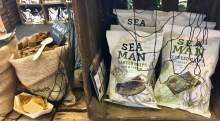 SEAMAN Seeweed Chips Squid+Pepper Westcoast Se Salt