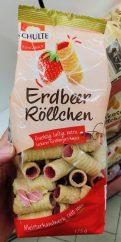 Schulte Feingebäck Erdbeer-Röllchen 175 Gramm