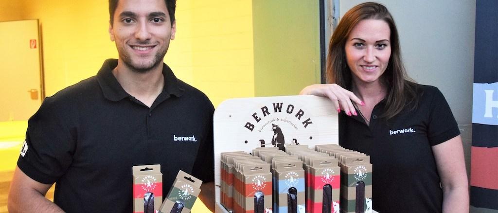 berwork-Gründer Navid Niyameimandi und Nevena Lazić