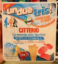 Citterio unduetris! Merenda Sport Pausensnack mit Fruchtsnack-Grissini-Salami
