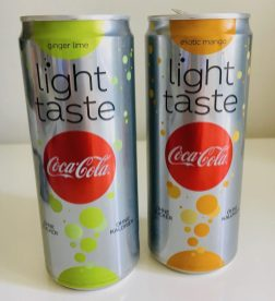 Coca Cola Light Tast ginger lime exotic mango