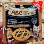 L'ABC della merenda Pausensnack mit Schokodrink und Schokotörtchen