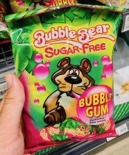 Mondelez BubbleBear Sugar-Free BubbleGum Kaugummi Hergestellt in der Türkei für Mondelez Schweiz