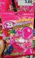 Mondelez Bubblicious Bubblegum Sugarfree Hergestellt in der Türkei für Mondelez Schweiz