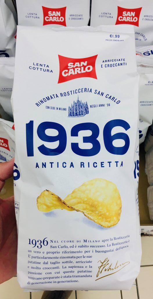 San Carlo 1936 Antica Ricetta Chips nach historischem Rezept