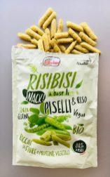 Valledoro RISIBIS Snack Piselli Erbsen Extruder-Snack Italien