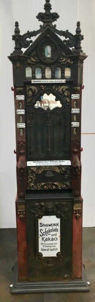Alprose Lugano Alter Stollwerck Schokoladenautomat