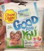 ChupaChups Good for you 14 Lollies ohne Zucker Stevia mit Vitaminen und Ballaststoffen