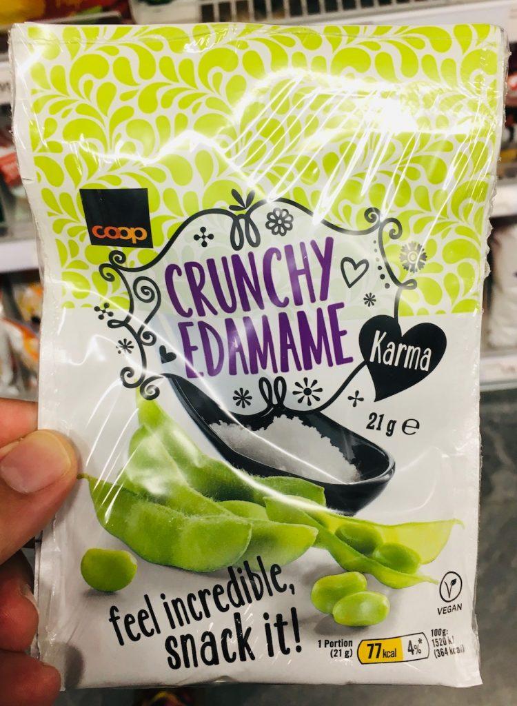 Coop Schweiz Crunchy EDAMAME Bohnen-Snack