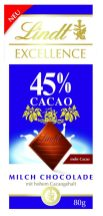 Lindt Excellence 45 Caco mit Milch