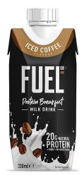 Fuel Protein Breakfast Milk Drink Iced Coffee 330ml