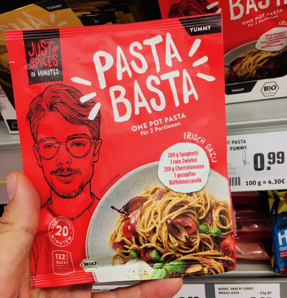 Just Spices Pasta Basta One pot Pasta Gewürzmischung
