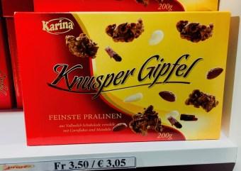 Karina Knusper-Gipfel 200 Gramm Chococrossies Imitat Baronie