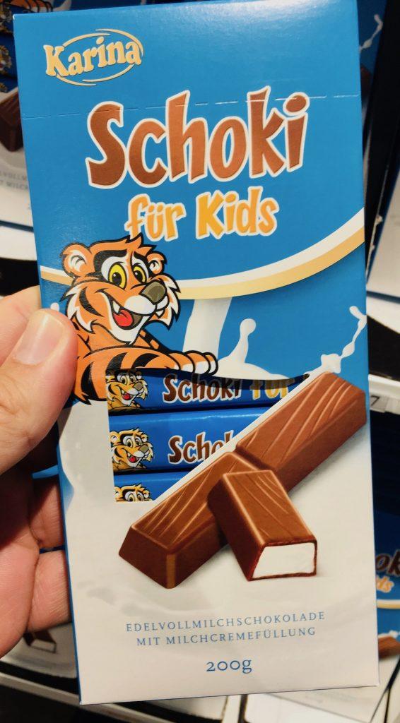 Karina Schoki für Kids Schokoladenstäbchen Alprose