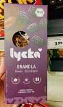 Lycka Granola Kakao Brombeere