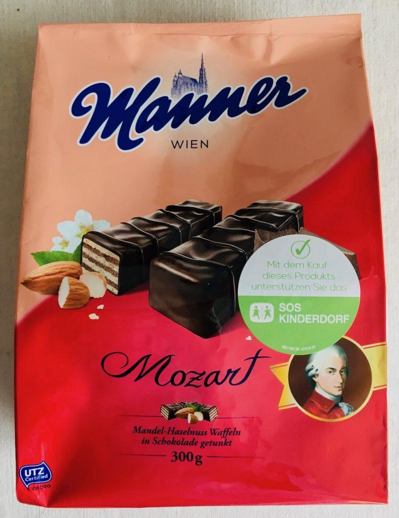 Manner Mozart Schnitten 300 Gramm SOS Kinderdorf-Aktion