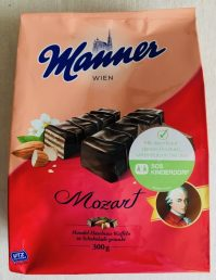 Manner Mozart Schnitten 300 Gramm SOS Kinderdorf-Aktion