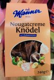 Manner Nougatcreme Knödel 240 Gramm