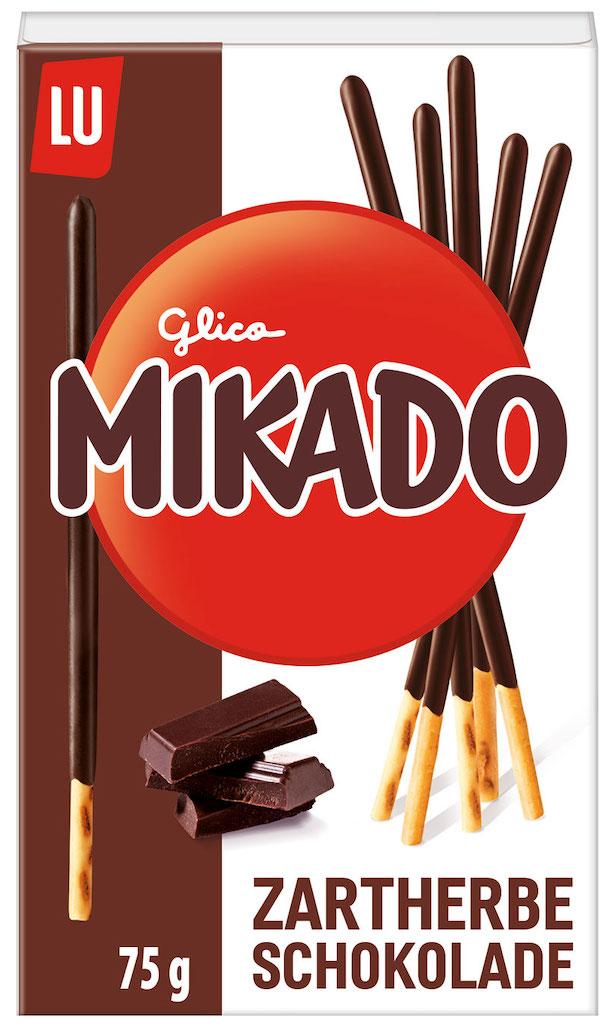Mondelez Lu Mikado Zartherbe Schokolade 75 Gramm