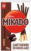 Gebäckstäbchen mit Schokolade Mondelez Lu Mikado Zartherbe Schokolade 75 Gramm