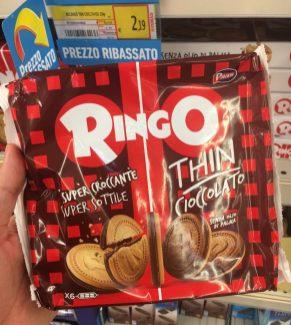 Ringo Oreo-Imitat Thin Cioccolato Schokolade