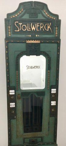 Wunderschöner Jugendstil-Automat von Stollwerck.