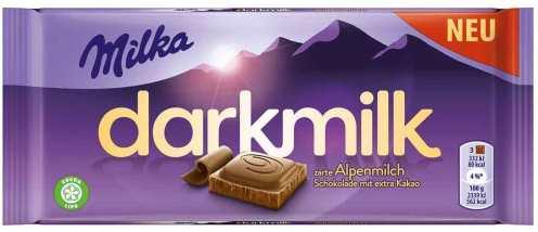 Darkmilk von Milka mit Alpenmilch