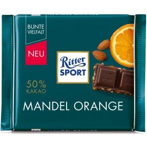 Mandel Ornage von Ritter Sport.