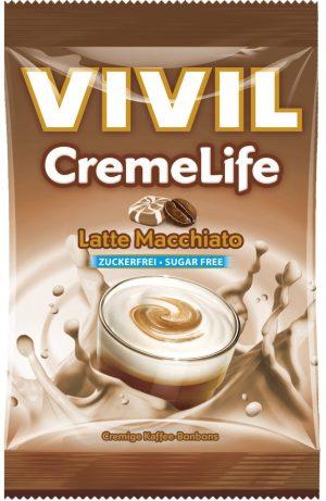 CremeLife von Viviel mit Latte Macchiato-Geschmack. 110 Gramm.