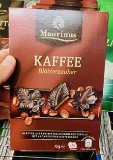 ALDI Maurinus Kaffee Blätterzauber 75 Gramm