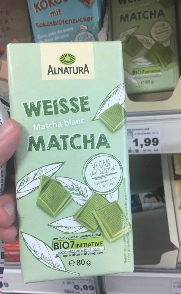 Alnatura Weisse Matcha 80 Gramm