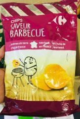 Carefour Kartoffelchips Barbecue Frankreich