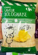 Carfour Kartoffelchips Bolognese-Geschmack Frankreich