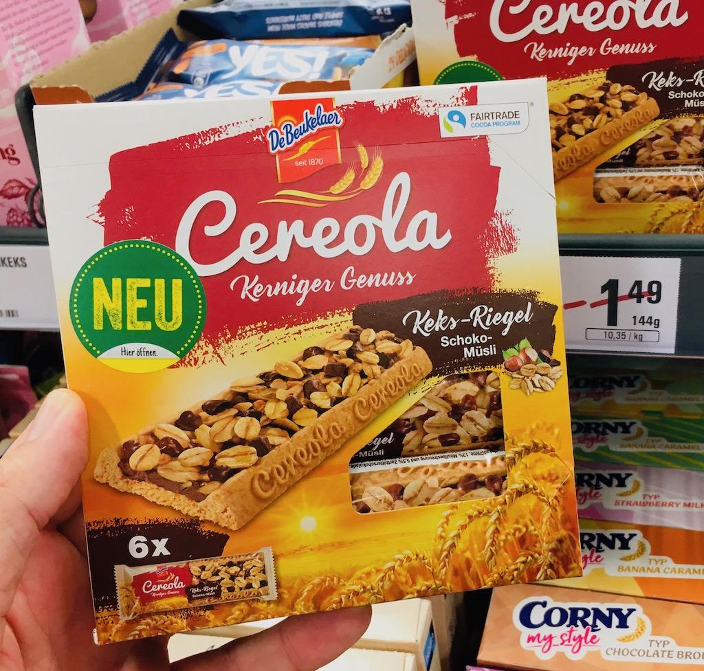 DeBeukelaer Cerola Kerniger Genuss 6 Riegel