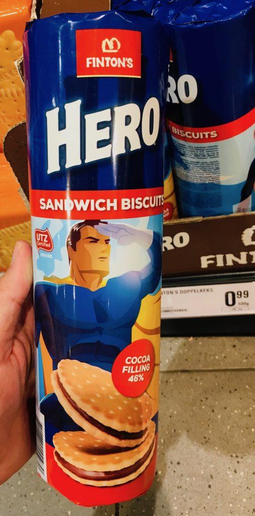 Fintons Hero Doppelkeks Sandwich Biscuit