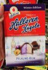 Halloren Kugeln Winter-Edition Pflaume-Rum 2019
