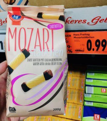 Hans Freitag Keks- und Waffelbäckerei Mozart-Stäbchen 200G