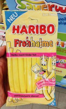 Haribo Frohhalme Zitrone