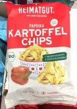 Heimatgut Bio-Kartoffelchips Paprika