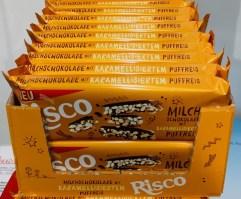 Hosta Risco Milchschokolade mit Karamelisiertem Puffreis Schuber
