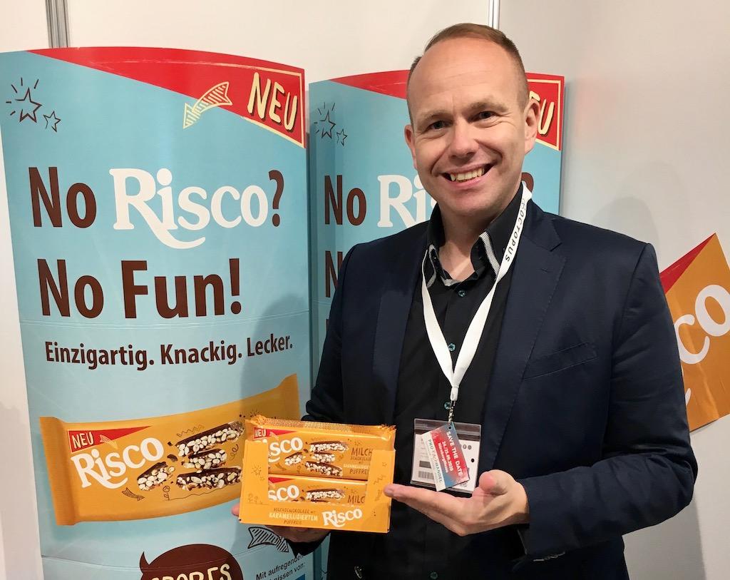 Hosta Risco Puffreis mit Karamel – Key Account Torsten Müller ProFachhandel 2019 ©Oliver Numrich