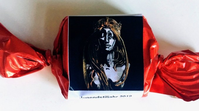 Confiserie Fritz Kunder Wiesbaden Jugendstil-Praline Zartbitter