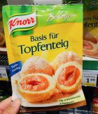 Knorr Basis für Topfenteig Österreich
