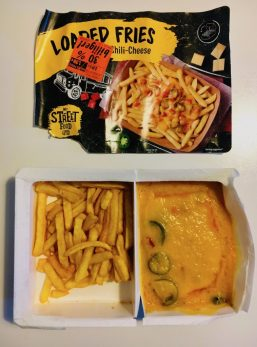 Lidl Loaded Fries mit Chili-Cheese Streetfood Truck