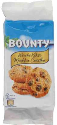 Mars Bounty Weiche Kekse 180g