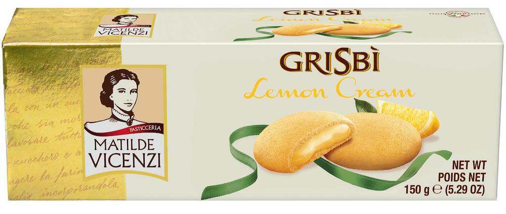 Matilde Vicenzi Grisbi Lemon Cream 150 Gramm