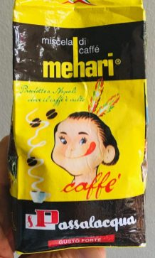 Mehari Kaffee Italien Gusto Forte Indianer-Fgiur Comicmotiv