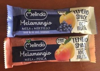 Melinda Melamangio Apfel+Mirtillo Heidelbeere und Apfel+Pfirsich